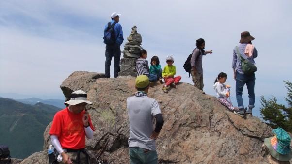 笠岳山頂より撮影・1