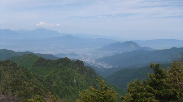 笠岳山頂の景色・2