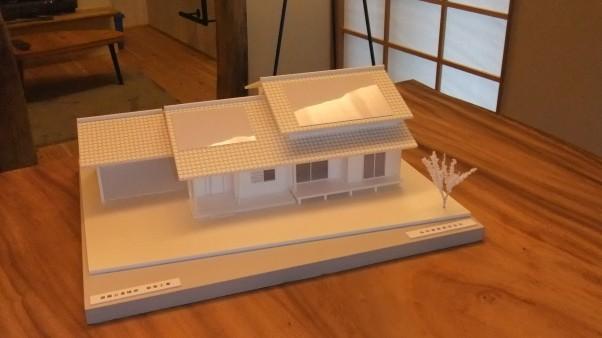 『 完成イメージ模型 』 和風モダンな雰囲気を目指してます!!